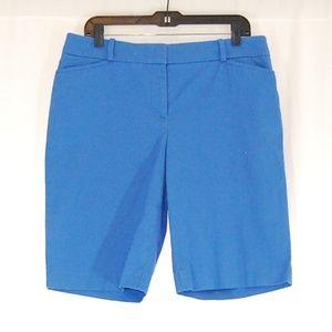 🆕 Talbots Blue Bermuda Shorts